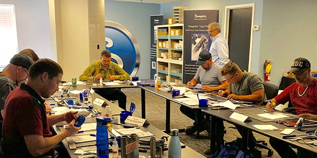 Phil Reid Leads Swagelok Training Class