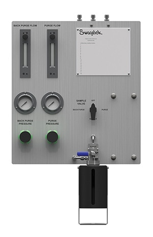 GSL-Swagelok Grab Sample Liquid panel